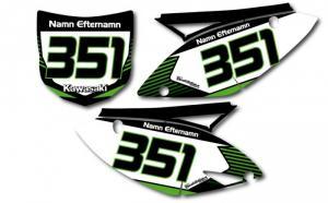 Nr-kit KXF 250 och 450 2009-2011 Stripes