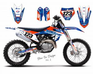 KTM Blue Ice Design