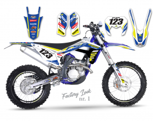 Sherco Factory Look Design