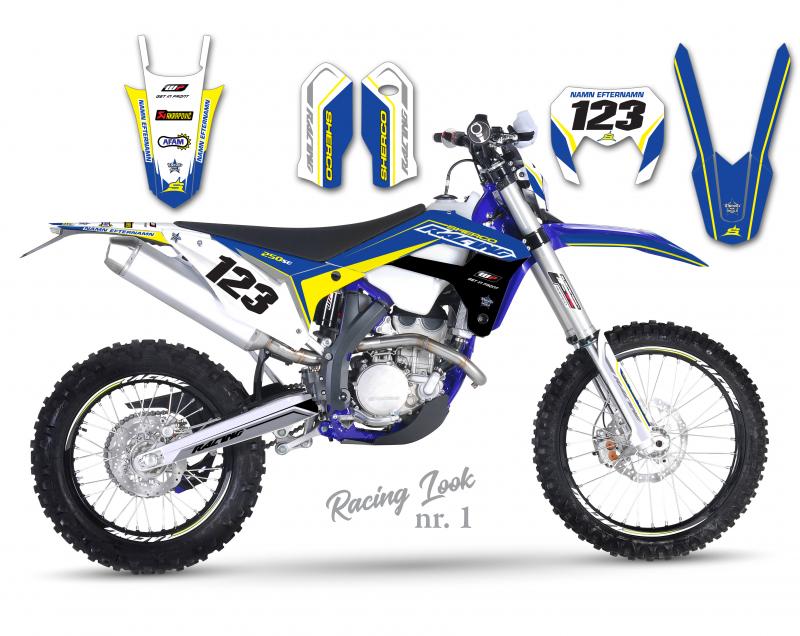 Sherco Racing  Design