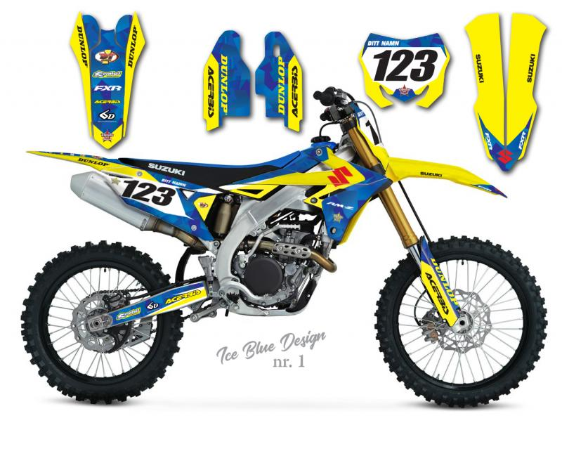 RMZ Ice Blue Design