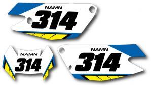 Nr-kit FE 2009-2012, enduro. Blue & Yellow