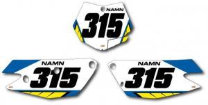 Nr-kit FC 2009-2012. Blue & Yellow