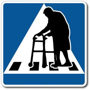 Åldring med rullato: Övergångsställe