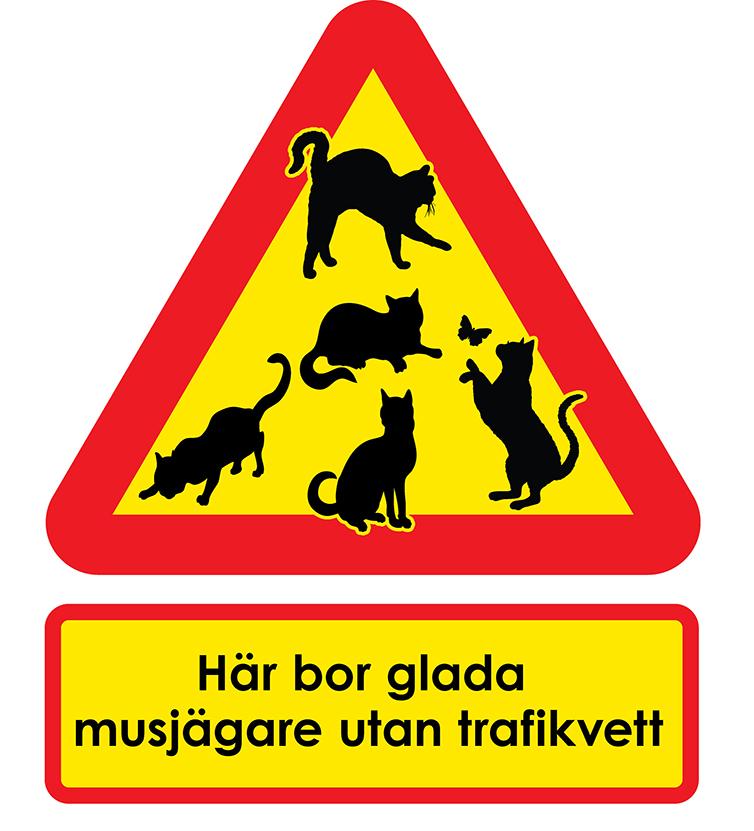 Varningsskyltar du träffar en gräns