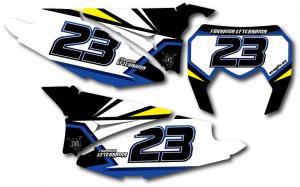 Nr-kit SE 250-300 2012-2013, Blue & Yellow.