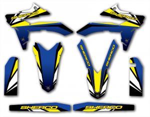 Semikit SE 250-300 2012 Blue & Yellow