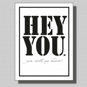 Hey you... Poster