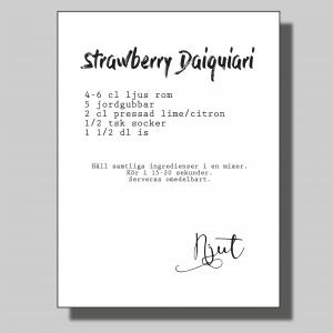 Strawberry Daiquiari... Poster