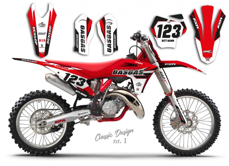GasGas Classic Design