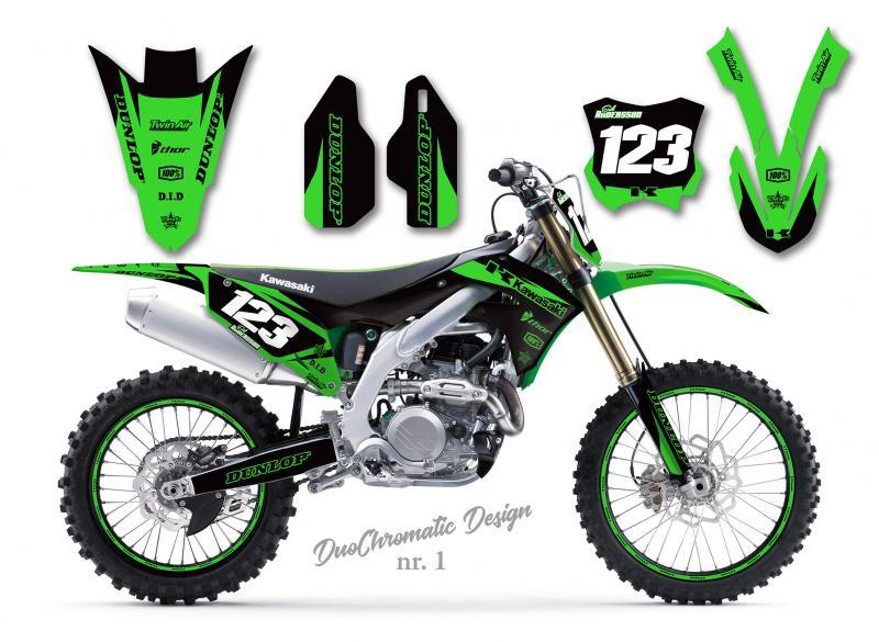 Kawasaki DuoChromatic Design