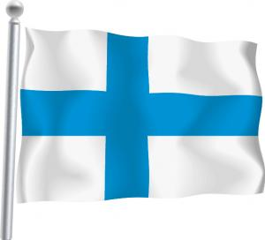 Nationsflagga-Finland