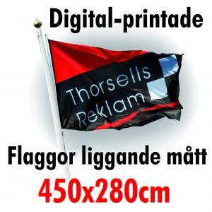 Digital-printade flaggor