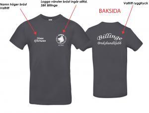 T-shirt Billinge Brukshundklubb
