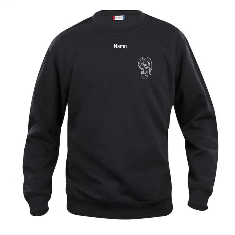 Sweatshirt med S:t Christophers loggor