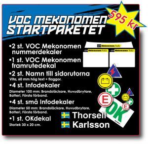 VOC Mekonomen Startpaket