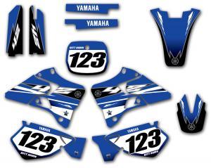 Yamaha komplett dekalkit anpassat till valfri modell. Classic Look.