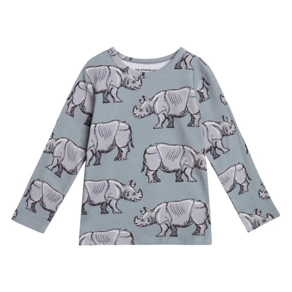 Juno LS T-shirt rhino
