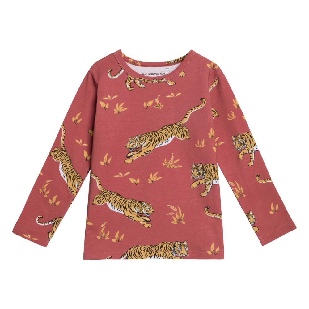 Juno LS T-shirt tiger