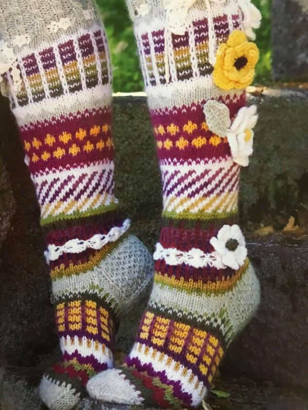 Anelmas Flowersocks - Anelmaiset in english