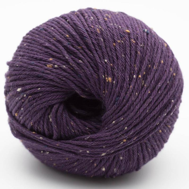 Gossypium Cotton Tweed pflaume