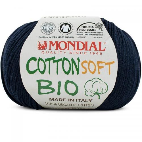 Ekologiskt bomullsgarn Cotton Soft Bio