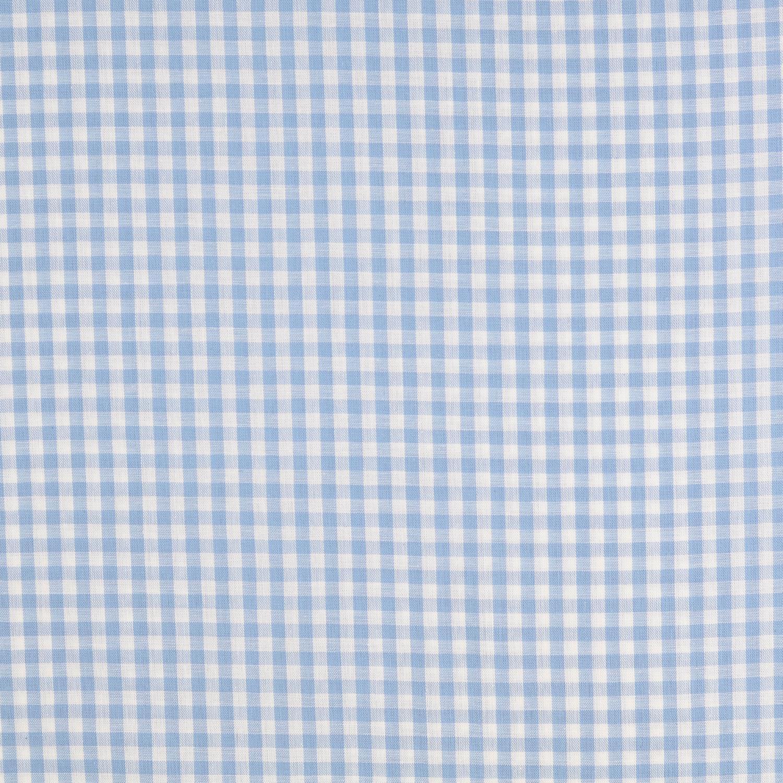 Köksrutig Blå/vit liten ruta