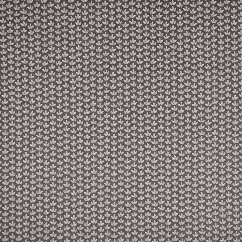 Bomullstryck ankfot Ljus grå 145cm