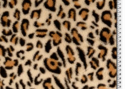 Päls  100% PES Leopard 150cm