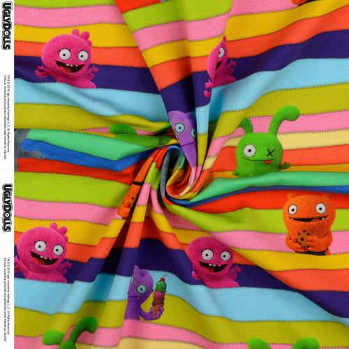 Trikå Ugly dolls 150cm Oeko-Tex 95% Bom
