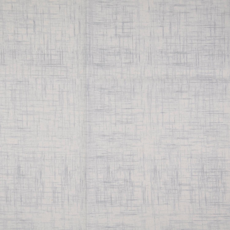 Bomullstryck slubväv 135cm Ljus grå