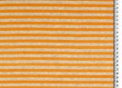 Velour Nicki orange randig 150cm