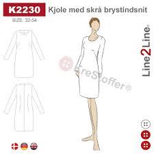 Klänningsmönster, k2230