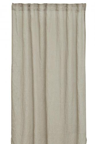 Mirja Gardinset polyester /lin , offwhite