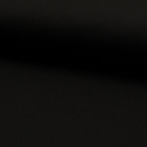 Canvastyg, svart