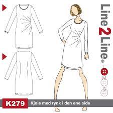 Side gathered dress