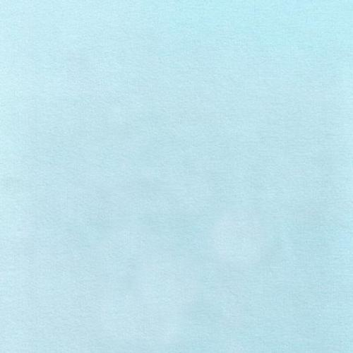 Bomullsflanell Ljusblå