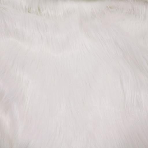 Gorilla vit polyester päls
