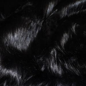 Gorilla svart polyester päls