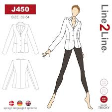 Close fitting classic suit jacket