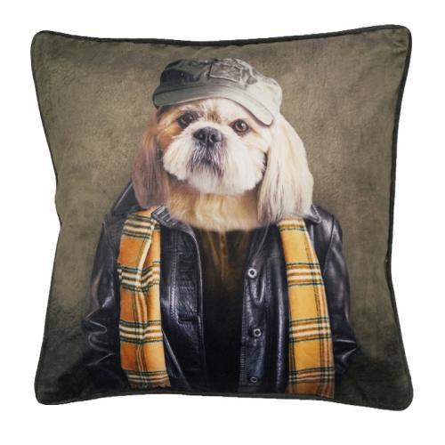 Hunden Rick, kuddfodral
