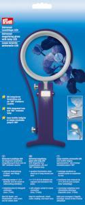 Förstoringsglas med lampa