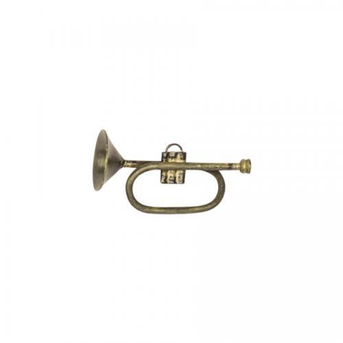 liten trumpet mässing