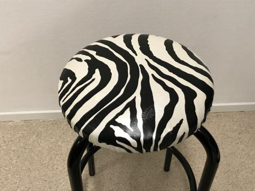 Zebra skinnimitation