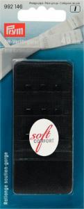 BH förlöngare 40mm 3 krokar svart