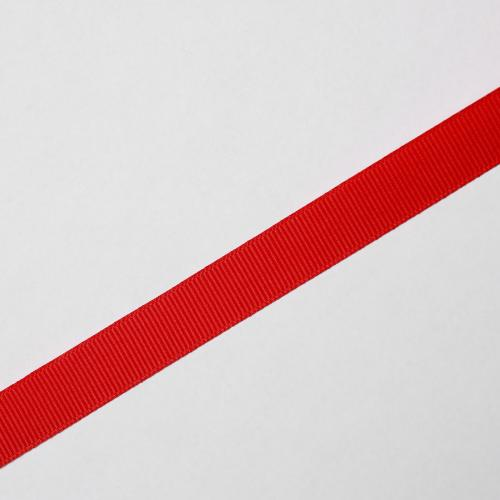 Ripsband 15mm röd