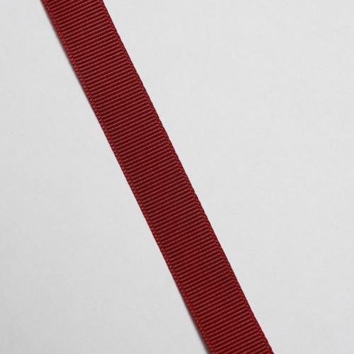 Ripsband 15mm Vinröd