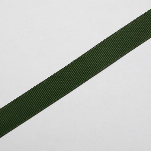Ripsband 15mm grön