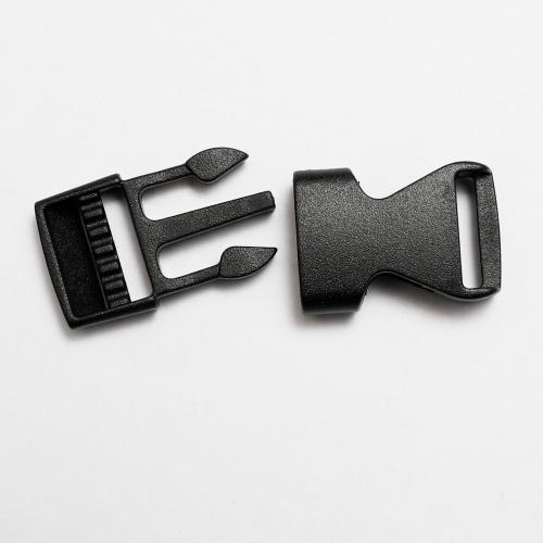 Väskspänne Turbo click svart 15mm