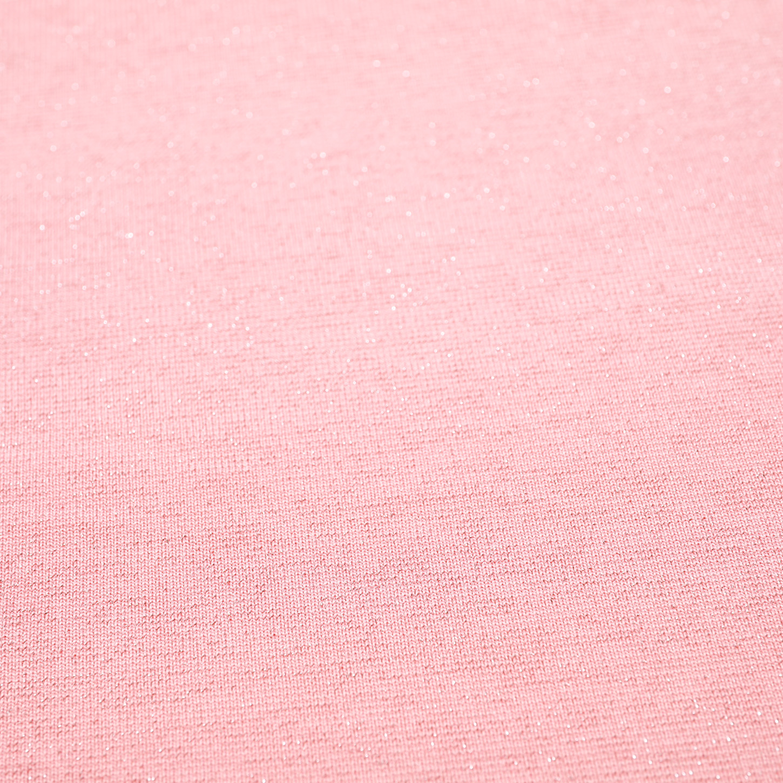 Metallic Jersey Peach 155cm